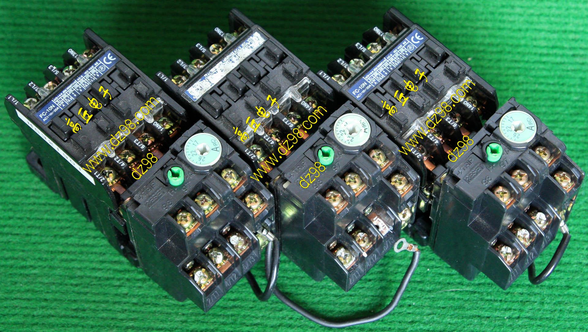 接触器线圈电压24v_继电器接触器